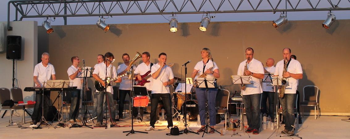 Tanzorchester auf Kreta