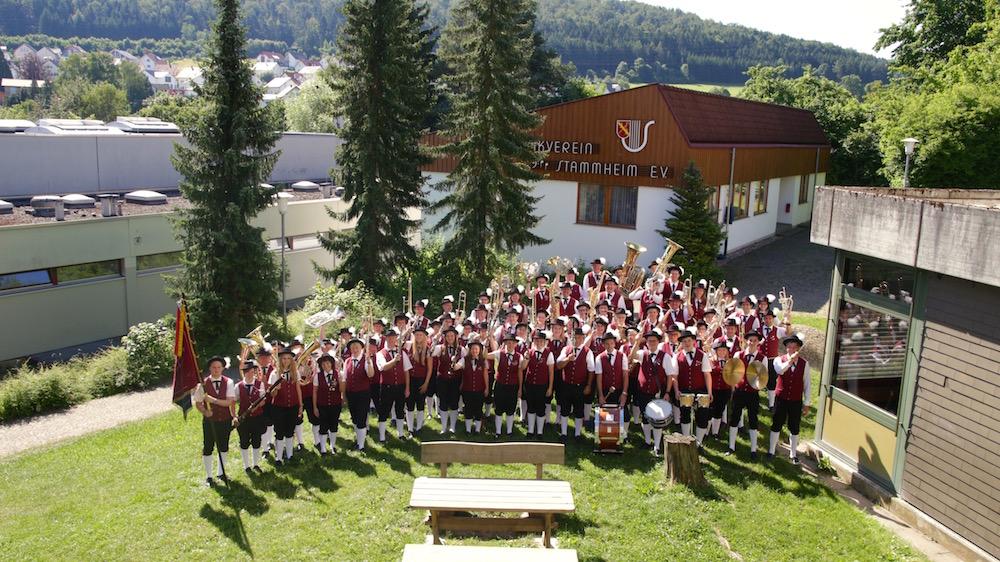 Die Trachtenkapelle des Musikverein Stammheim e.V.