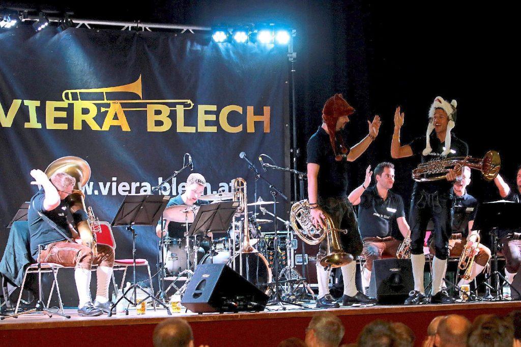 Viera Blech Live beim Musikverein Stammheim
